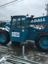 Equipment we have available for your project. 6000LB Telehandler.
