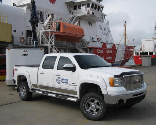Industrial Scaffold Inc Truck at Coast_Guard